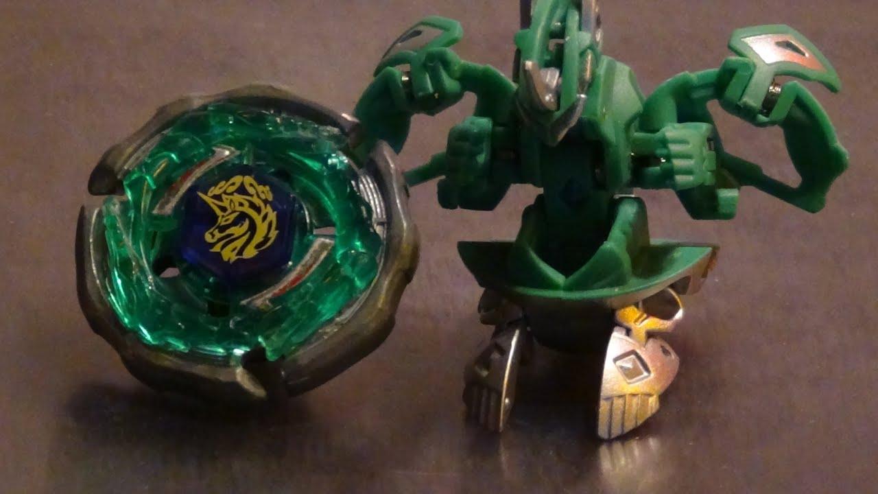 Beyblade vs Bakugan: Ray Unicorno D125CS vs Mechtanium ...