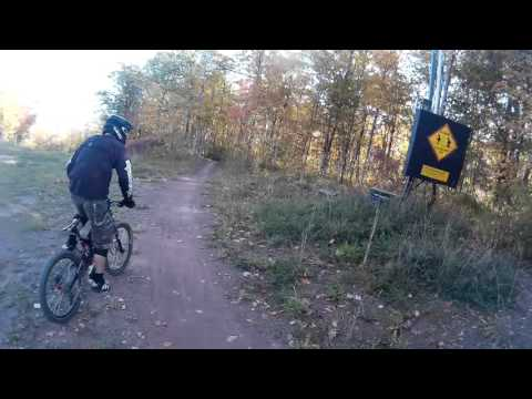 Embryo - Blue Mountain Bike Park - Fall Riding - Train with Andy and Olivier