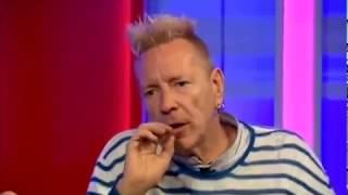 Diane Abbott doesn't like Johnny Rotten...
