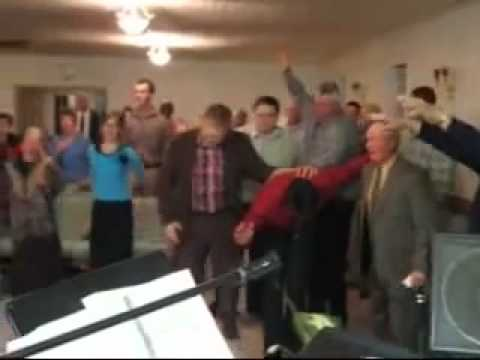 crazy church Holy Ghost Explosion