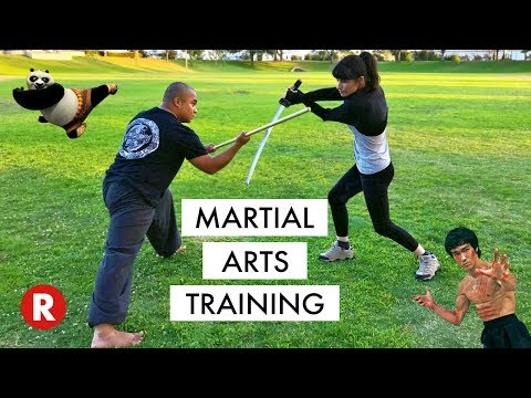 Learning Martial Arts // My First Kung Fu Lesson