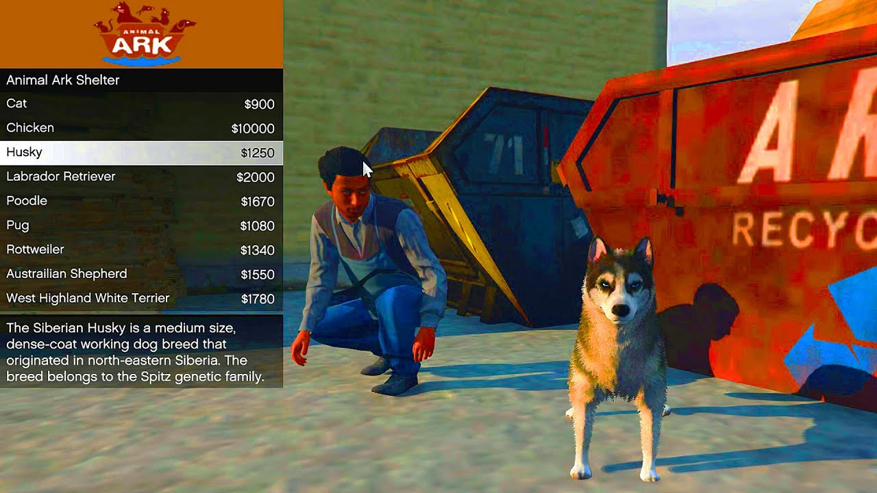 GTA 5 ANIMAL PET SHOP MOD - GTA 5 New Pets Mod (GTA 5 ...