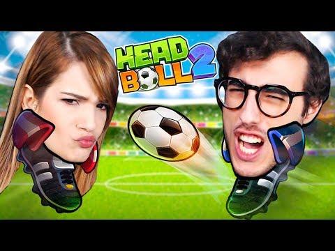 SIAMO DIVENTATI DEI CALCIATORI FAMOSI!! - HEAD BALL 2