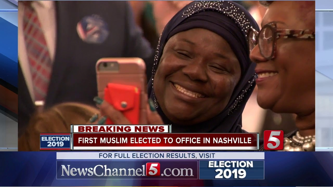 Zulfat Suara makes history in Metro Council as first Muslim to be elected in Nashville