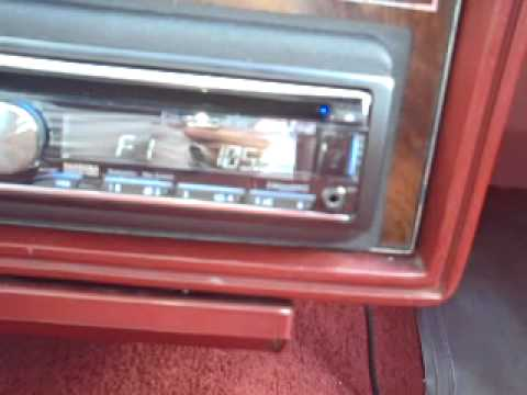 1981 olds cutlass and new car stereo  YouTube