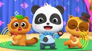 しょうじょうじのたぬきばやし♬ | 赤ちゃんが喜ぶ歌 | 子供の歌 | 童謡 | アニメ | 動画 | ベビーバス| BabyBus