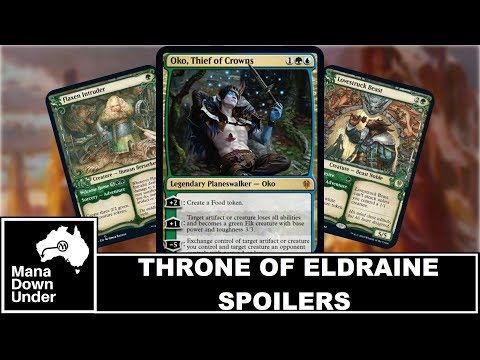 Throne of Eldraine Spoilers - Oko, Thief of Crowns and New Themes [MTG / Magic: The Gathering]
