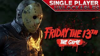 Unlockable Content in Single Player Challenges   NEW Emotes!   Friday the 13th: The Game