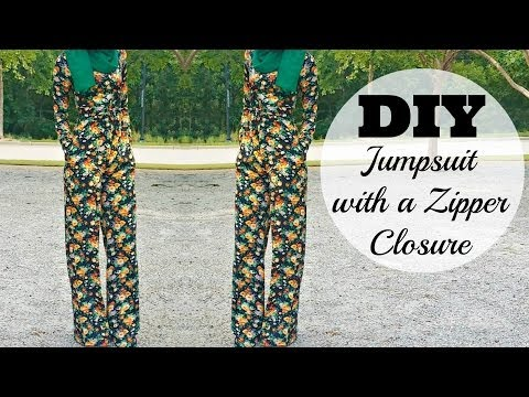 Nadira037 | DIY | How To Make A Jumpsuit With A Zipper Closure