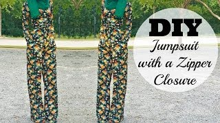 DIY | How to Make a Jumpsuit with a Zipper Closure