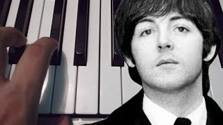 Yesterday / The Beatles / Piano Tutorial / Cover / Notas Musicales