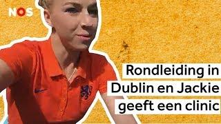 Jackie speelt met de Oranjeleeuwinnen tegen Ierland en de K3-karaoke | De club van Vijf #6