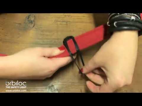 Orbiloc Rubber Strap - How to mount the Orbiloc Rubber Strap