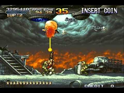 metal slug 2 mission 6 level 8 NO DEATH 2 - 2 |