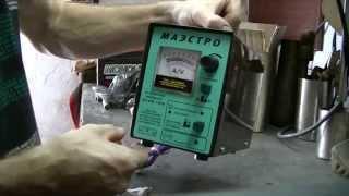 """Обзор зарядного устройства """"Маэстро"""" для автомобильных аккумуляторов."""