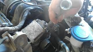 Форд фокус 3 установка ремня генератора без приспособы.