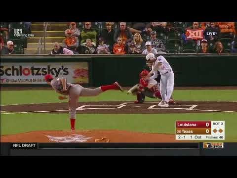 Louisiana vs Texas Baseball Highlights – Feb. 16