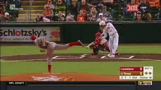Louisiana vs Texas Baseball Highlights - Feb. 16