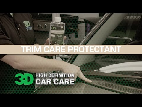 3D Products Trim Care Protectant