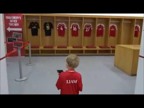 Liam visits... Emirates Stadium (Stadium Tour)