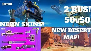 Fortnite-Royale Desert Map, Neon skins, building cube, V 3.5!