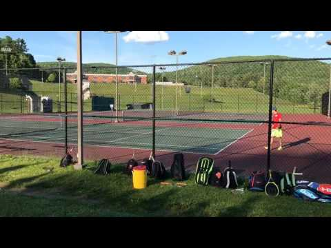 Jacob Fink wins third set, Mount Greylock Regional High School wins WMass D-III boys tennis title