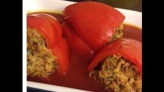 Stuffed Peppers (yarpagi)