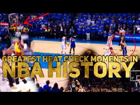 Greatest HEAT CHECK Moments in NBA History (I DIDNT MISS ANY)