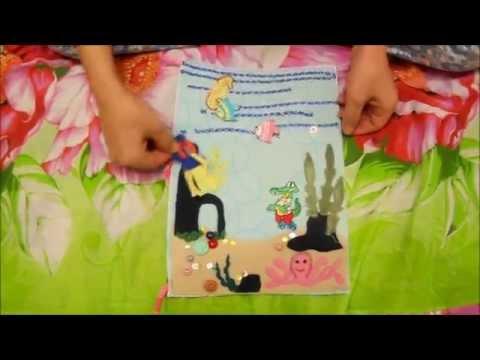 Видео: Детский развивающий коврик La-di-da Подводный мир 85х85х52 (Видео) в Туле