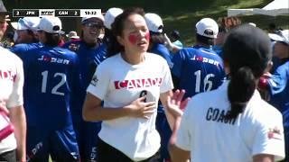 WFDF World Under 24 Ultimate Championship: Japan vs Canada - Women's