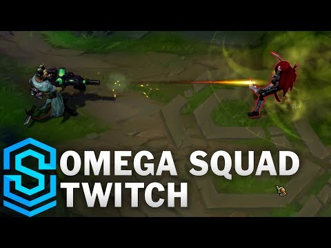 Omega Squad Twitch Skin Spotlight - League of Legends
