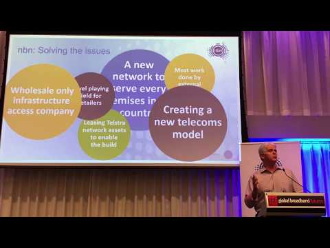 NBN CEO Bill Morrow opens Global Broadband Future Conference 13 Nov 2017
