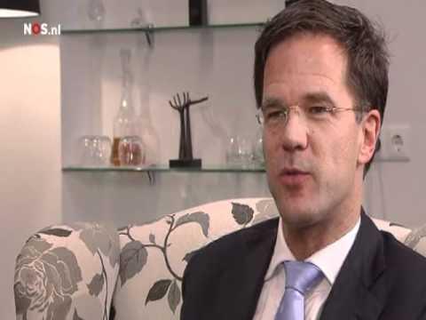 NOS Journaal Interview met Premier Mark Rutte