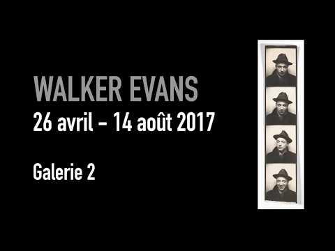 Vidéo Pub expo W. Evans (Centre Pompidou)