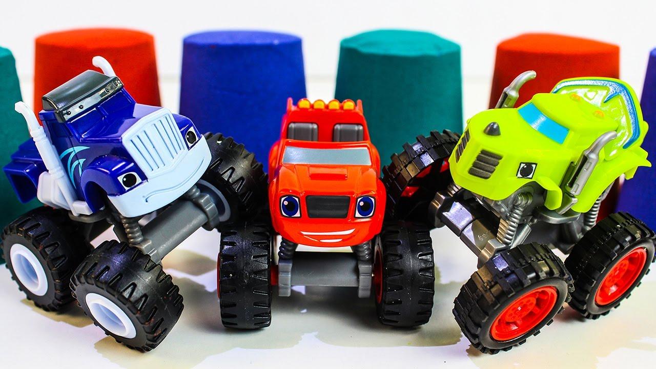 Вспыш и чудо машинки новые серии Развивающие мультики про машинки монстр траки Игрушки Вспыш 2017