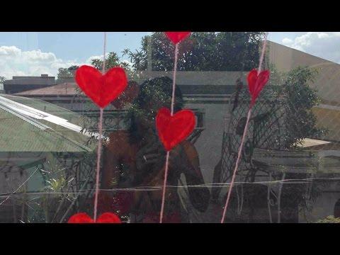Make Pretty Falling Heart Curtain Decor - DIY Home - Guidecentral