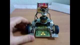 Самодельный Робомобиль (Hand-made Robomobil) ver.2