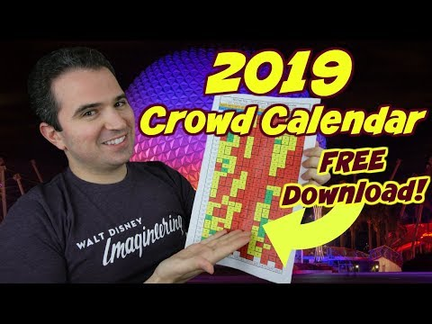 2019 Disney World Crowd Calendar And Star Wars Galxies Edge Opening Day Prediction