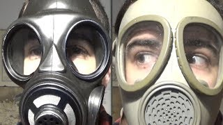 Types of Gas Mask/Respirator lenses