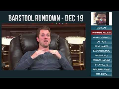 Barstool Rundown - December 19, 2016