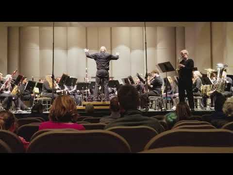 Josh Harper Solo with the Adrian College Concert Band 2-20-18