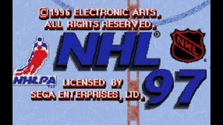 Hockey Game History - NHL '97 (Sega Genesis)