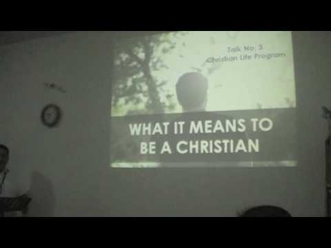 CLP Talk No. 3 - What it means to be a Christian