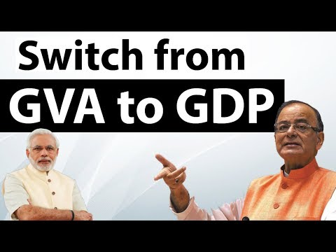 RBI decides to switch to GDP from GVA to measure economic activity - Current Affairs 2018