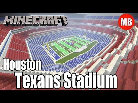Minecraft NFL Houston Texans Stadium | NRG Stadium