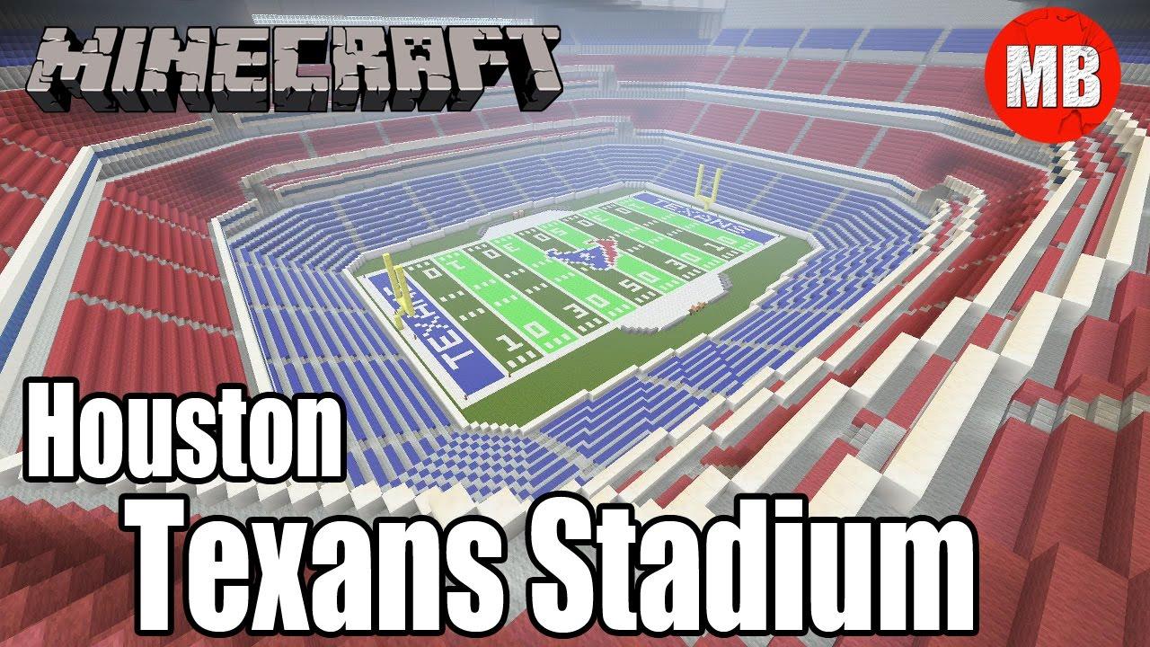 8d864233240 Minecraft NFL Houston Texans Stadium | NRG Stadium by MINIBEAN75