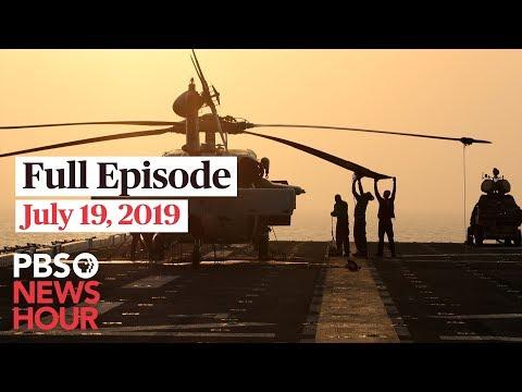 PBS NewsHour live show July 19, 2019