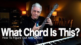 How To Figure Oขt the NAME of ANY Chord