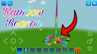 How to Make Rainbow Beacon in Realmcraft 🌈 | Itz RT