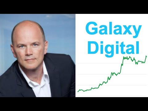 Mike Novogratz launches Galaxy Digital - $250 Million Crypto Investment Firm - Big Money Coming!